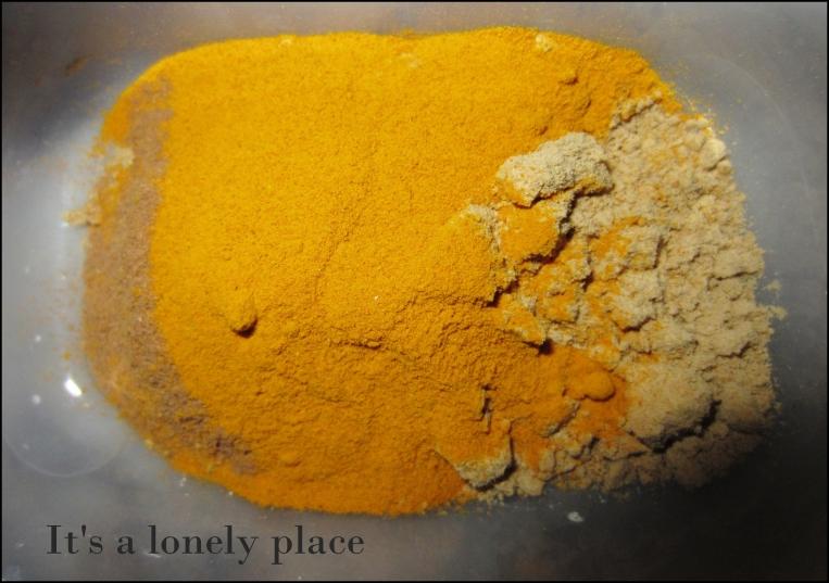 Cinnamon, turmeric & ginger